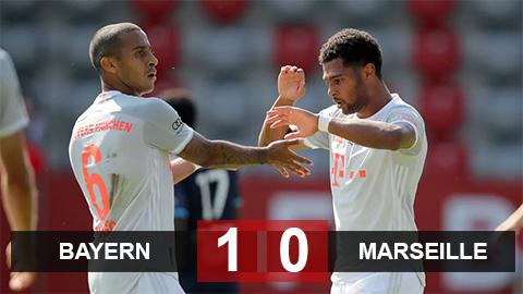 Kết quả Bayern 1-0 Marseille: Chạy đà cho Champions League