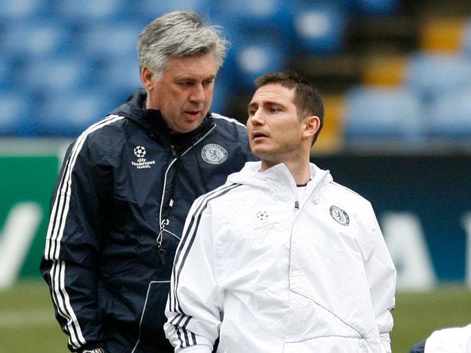 Lampard từng là một cầu thủ không thể đụng đến và ngay cả Ancelotti cũng khó trấn áp