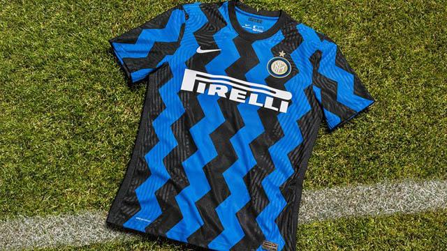 """Áo thi đấu sân nhà của Inter Milan ở mùa giải 2020/21 khiến fan cảm thấy """"nhức mắt"""""""