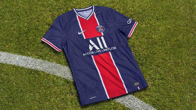 Áo đấu sân nhà của PSG ở mùa giải 2020/21 được kỳ vọng sẽ giúp CLB này tiếp tục thống trị Ligue 1 và Champions League