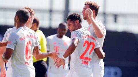 Bayern thắng nhẹ Marseille: Làm nóng và thử nghiệm