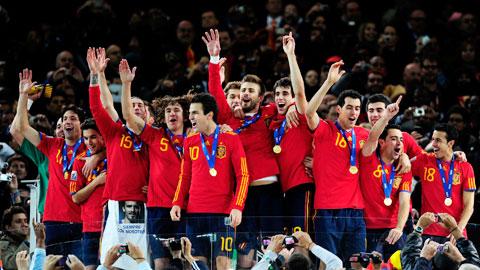 Chân dung các nhà vô địch World Cup 2010: Mỗi người một vẻ, mười phân vẹn mười