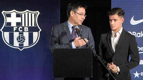Coutinho là một trong những thương vụ thất bại của chủ tịch Bartomeu