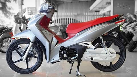 Honda Wave 125 thiết kế bắt mắt, chạy bền, tốn ít xăng, giá ngang SH Mode 2020, gây sốt mạnh