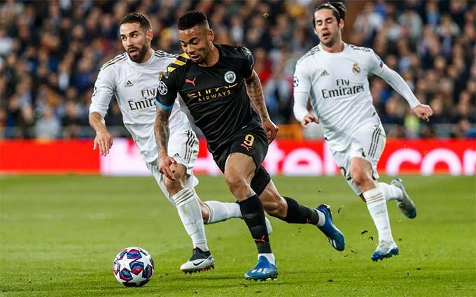 Man City đã thắng Real 2-1 ở trận lượt đi