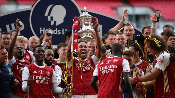 arsenal vô địch fa cup