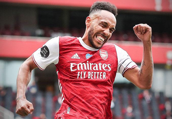 Arsenal tiếp duyên FA Cup, Aubameyang quá hay, Giroud đứt mạch vô địch
