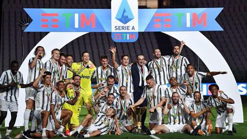 Serie A 2019/20 hạ màn và những giải thưởng được trao
