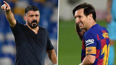 HLV Napoli chỉ ra 2 cách để có thể ngăn chặn Messi