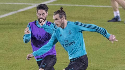 Bale và Isco chạy đua với chấn thương