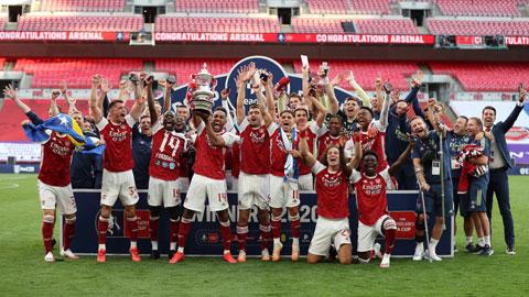 Arsenal, phía trước là bầu trời - Bongdaplus.vn