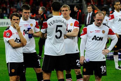 M.U thua Barca ở 2 trận chung kết Champions League 2009 và 2011