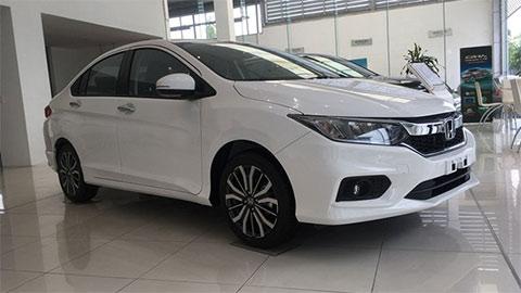 Honda City giảm giá cực mạnh xả kho, đấu Toyota Vios, Hyundai Accent