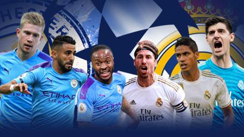 Man City vs Real: Công cường đọ thủ chắc