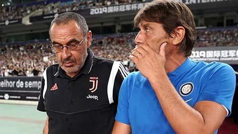 Conte tìm đường ''trở về'' Juventus thay chỗ Sarri