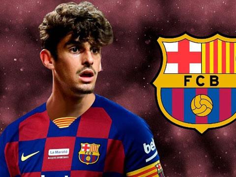 Barca coi Trincao là tương lai của đội bóng