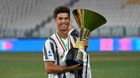 Ronaldo hé lộ tương lai sau khi Juventus vô địch Serie A lần thứ 9 liên tiếp