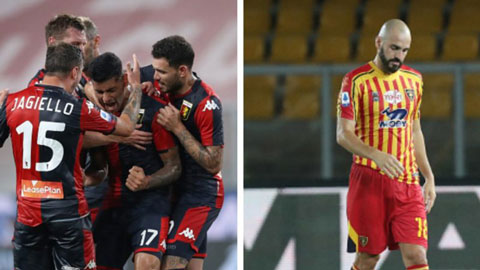 Vòng 38 Serie A: Xác định đội cuối cùng xuống hạng, CLB lâu đời nhất thoát hiểm