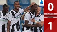 Sassuolo 0-1 Udinese (Vòng 38 Serie A 2019/20)