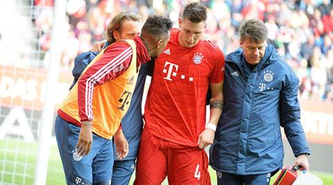 Thời gian dài nghỉ điều trị chấn thương khiến Suele có thể mất suất đá chính ở Bayern
