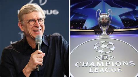 HLV Wenger phớt lờ Bayern khi nói về ƯCV vô địch Champions League