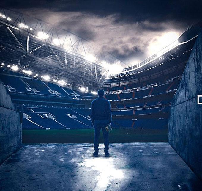 Hình ảnh xúc động đứng tại Bernabeu được Casillas đăng tải trên mạng xã hội