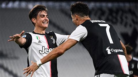 Dybala vượt mặt Ronaldo nhận giải Cầu thủ hay nhất mùa Serie A 2019/20
