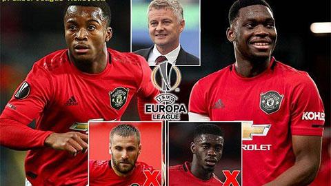 M.U công bố đội hình dự Europa League: Bổ sung nhiều gương mặt trẻ