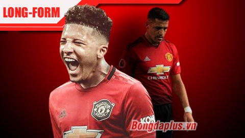 Man United: Sanchez RA, Sancho VÀO