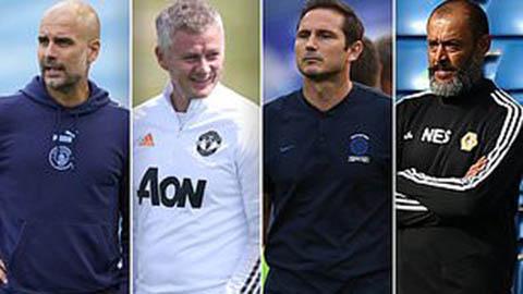 Man City, Man United, Chelsea có thể lỡ 2 tuần đầu Ngoại hạng Anh 2020/21