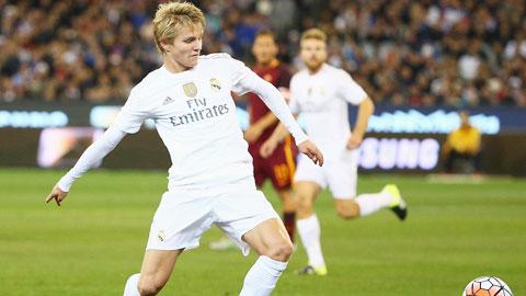 Vì Modric,  Odegaard khó có chỗ ở Real Madrid