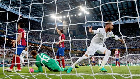 Chấn thương của Costa khiến Atletico thua ngược Real trong trận chung kết Champions League 2013/14 tại Lisbon
