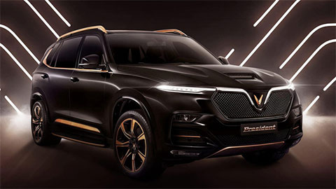 VinFast President lộ diện với kiểu dáng siêu hầm hố, giá dự kiến ngang tầm Lexus LX 570, BMW X7