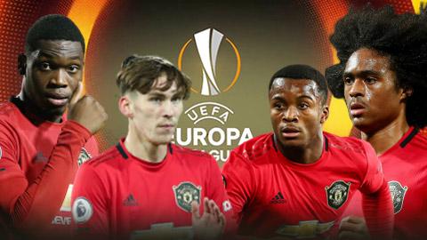 6 sao trẻ M.U có cơ hội thể hiện mình ở Europa League
