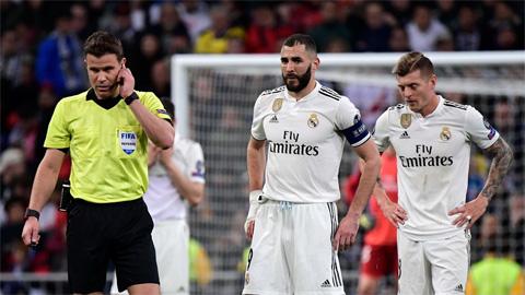 Man City hoảng hốt khi biết trọng tài bắt chính ở trận tiếp Real Madrid