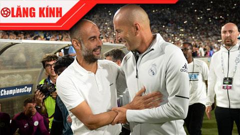 Zidane và Pep: Vô chiêu đối hữu chiêu