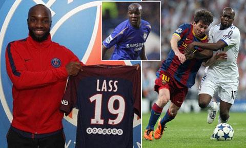 Trong sự nghiệp, Lass Diarra toàn khoác áo các CLB lớn như PSG, Chelsea, Real...