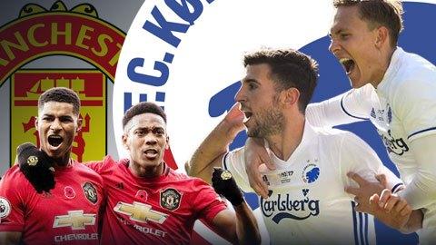 FC Copenhagen, đối thủ tiếp theo của M.U là ai?
