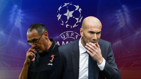 Dự đoán kết quả vòng 1/8 Champions League: Chia tay Juventus & Real