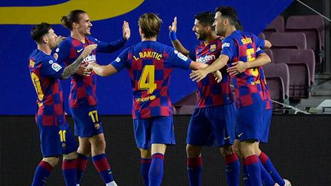 Barca sẽ đá với Napoli bằng đội hình nào ở lượt về vòng 1/8 Champions League?