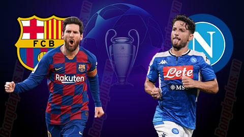 Nhận định bóng đá Barcelona vs Napoli, 2h00 ngày 9/8: 'Cách ly' Napoli