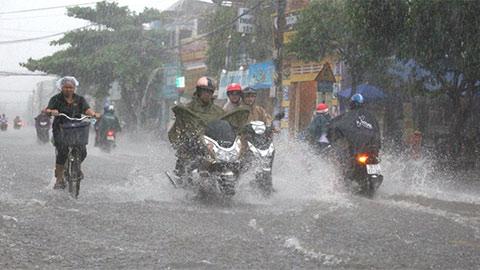 Dự báo thời tiết hôm nay 7/8: Bắc Bộ, Tây Nguyên và Nam Bộ tiếp tục có mưa to