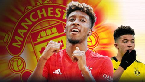 Nếu Sancho đắt quá, Man United nên mua Coman