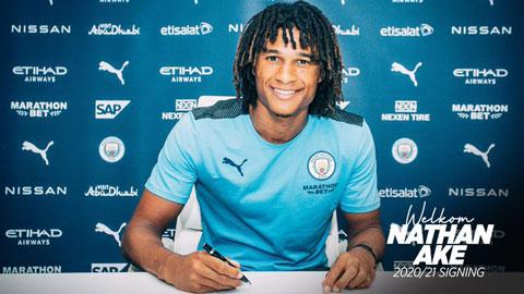 Man City chính thức chiêu mộ Ake, giá 41 triệu bảng kèm hợp đồng 5 năm
