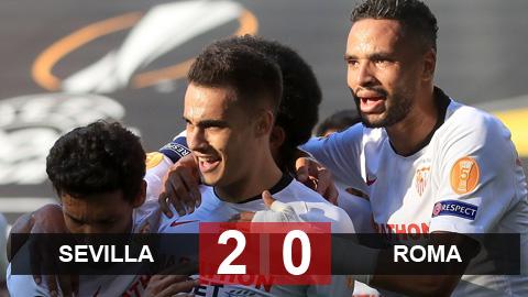 Kết quả Sevilla 2-0 Roma: Sevilla hiên ngang vào tứ kết Europa League