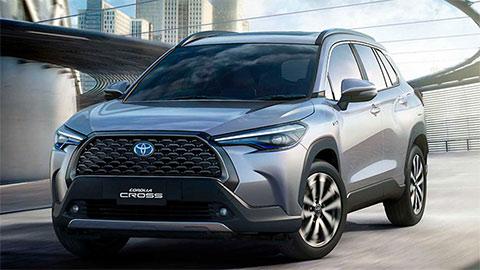 Toyota Corolla Cross 2020 vừa ra mắt tại VN, có giá lăn bánh bao nhiêu?