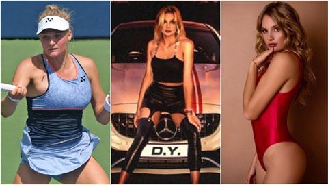 """Mỹ nhân quần vợt đã xinh còn """"bắn rap"""" cực đỉnh"""