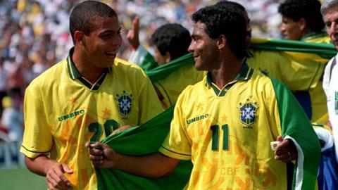 Ronaldo - Romario từng là nỗi sợ hãi của rất nhiều hàng phòng ngự