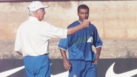 HLV Zagallo đã không còn trọng dụng Romario kể từ năm 1997