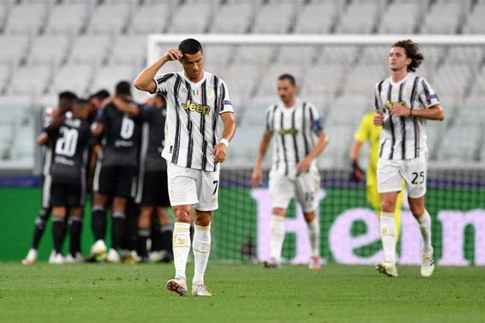 Ronaldo đã làm hết sức nhưng không thể cứu Juventus